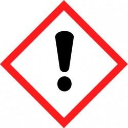 Etiquettes adhésives SGH produits corrosifs