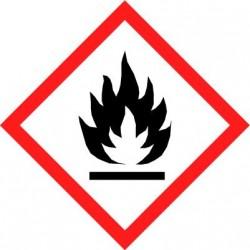 Etiquettes adhésives SGH produits qui peuvent s'enflammer