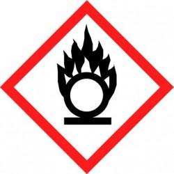 Etiquettes adhésives SGH produits comburants