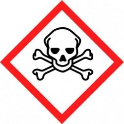 Etiquettes adhésives SGH produits empoisonnant rapidement