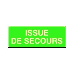 Panneau photoluminescent Issue de secours