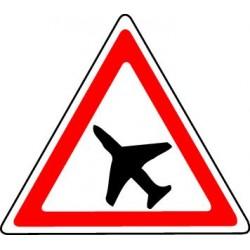Panneau Aire de danger aérien