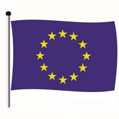 Pavillon Union Européenne en Tissu maille 100% polyester 120 x 180 cm