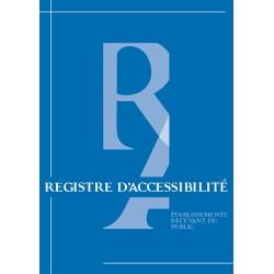 Registre d'Accessibilité