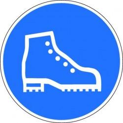 1d50de1a77ce3a Panneau Port de Chaussure de Sécurité Obligatoire