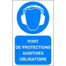 Panneau Port de Protections Auditives Obligatoire