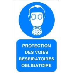 Panneau Protection des Voies Respiratoires Obligatoire