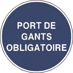 Panneau Port de Gants Obligatoire