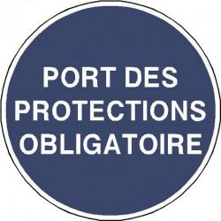 Panneau Port des Protections Obligatoire