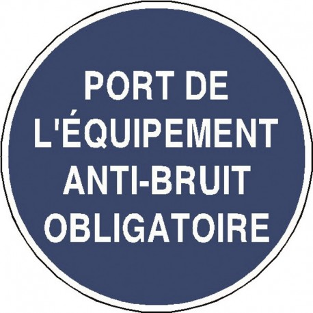 panneau port de l 39 equipement anti bruit obligatoire panosur. Black Bedroom Furniture Sets. Home Design Ideas
