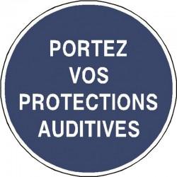 Panneau Portez Vos Protections Auditives