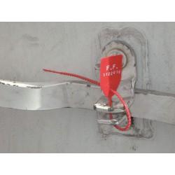 SCELLES DE SECURITE PLASTIQUES A SERRAGE PROGRESSIF