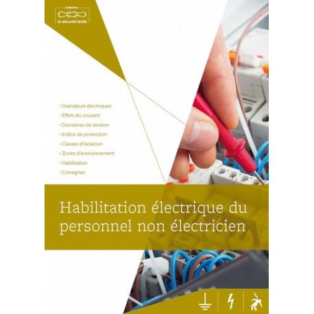GUIDE DE FORMATION. HABILITATION ELECTRIQUE DU PERSONNEL NON ELECTRICIEN