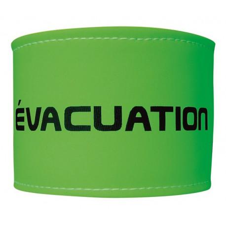BRASSARD FLUO ÉVACUATION