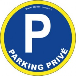 PANNEAU PARKING PRIVE