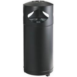 CENDRIER CORBEILLE TRI SELECTIF 3 X 35 L
