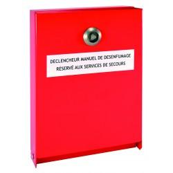 BOITIERS DE PROTECTION POUR DECLENCHEUR MANUEL DE DESEMFUMAGE