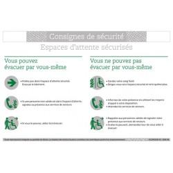 CONSIGNES DE SECURITE ESPACES D'ATTENTE SECURISES