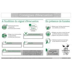 CONSIGNES D'EVACUATION