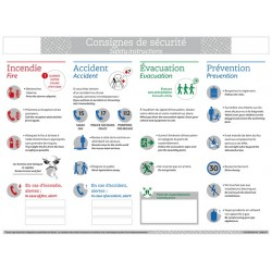 CONSIGNES DE SECURITE ACTIVITES EXTERIEURES FRANCAIS / ANGLAIS