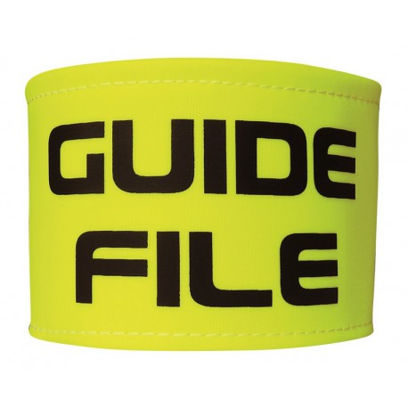 BRASSARD FLUO GUIDE FILE