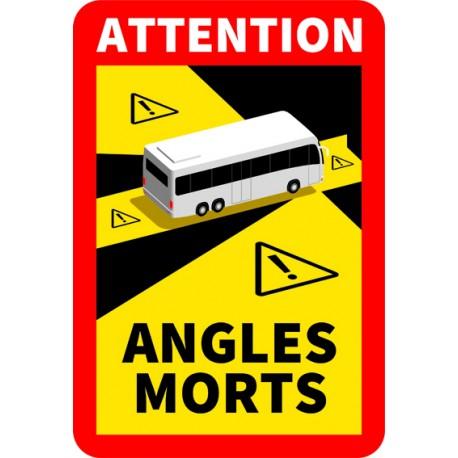 ADHESIF ANGLE MORT POUR BUS
