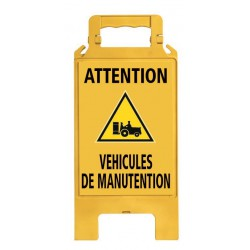 CHEVALET PLIABLE VEHICULES DE MANUTENTION