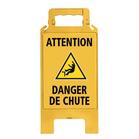 CHEVALET PLIABLE DANGER DE CHUTE