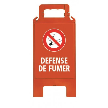 CHEVALET PLIABLE DEFENSE DE FUMER