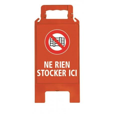 CHEVALET PLIABLE NE RIEN STOCKER ICI