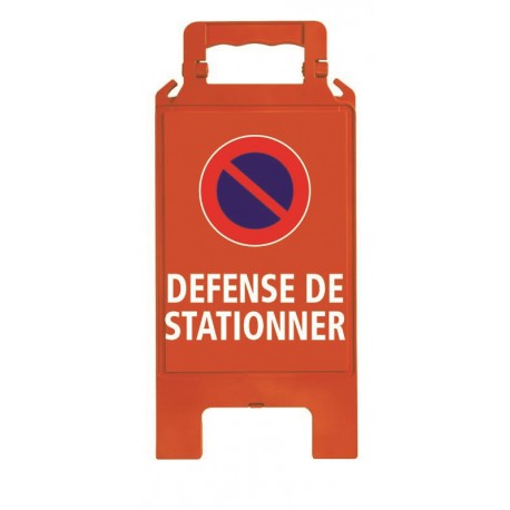 CHEVALET PLIABLE DEFENSE DE STATIONNER