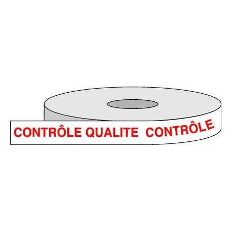 Rouleau adhésif CONTRÔLE QUALITE.