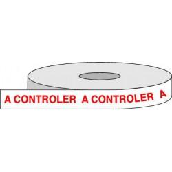 Rouleau adhésif A CONTROLER.