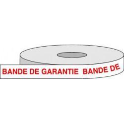 Rouleau adhésif BANDE GARANTIE.
