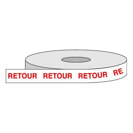 Rouleau adhésif RETOUR.