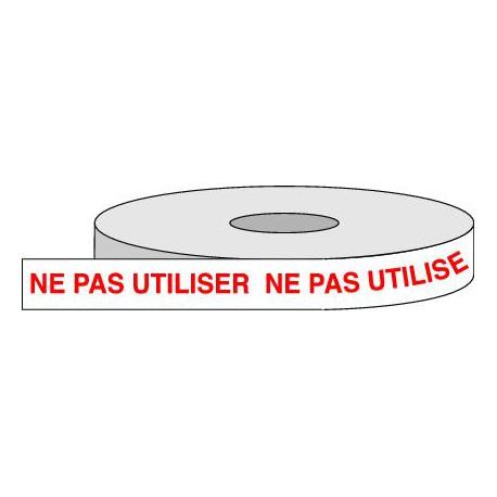 Rouleau adhésif NE PAS UTILISER.