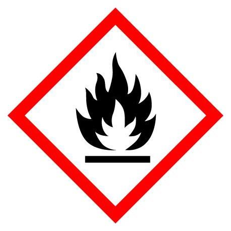ETIQUETTES DE PRODUITS DANGEREUX - EXTREMEMENT INFLAMMABLE
