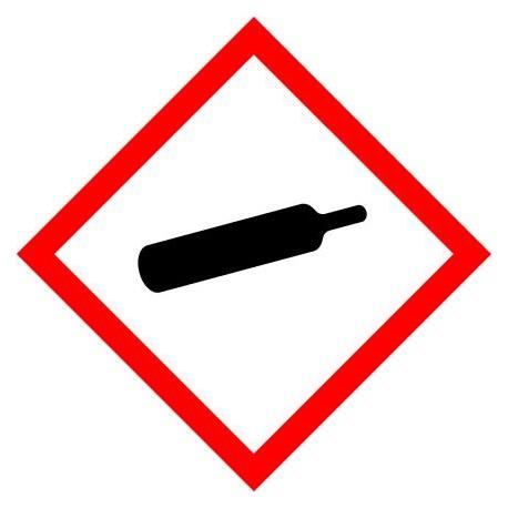 ETIQUETTES DE PRODUITS DANGEREUX - GAZ SOUS PRESSION