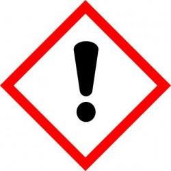 ETIQUETTES DE PRODUITS DANGEREUX - NOCIF EN CAS D'INGESTION... IRRITANT...