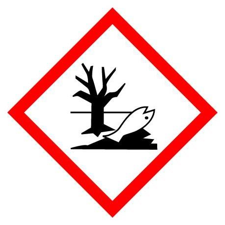 ETIQUETTES DE PRODUITS DANGEREUX - TRES TOXIQUE ORGANISMES AQUATIQUES