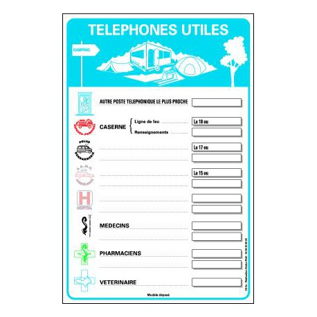 TELEPHONES UTILES