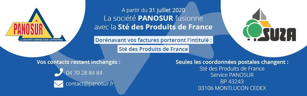 Fusion Panosur - Société des Produits de France